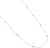 Jorge Revilla Yellow Sterling Silver & 18k Finish Diamond Necklace