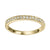 10K Yellow Gold Stackable Diamond Ring