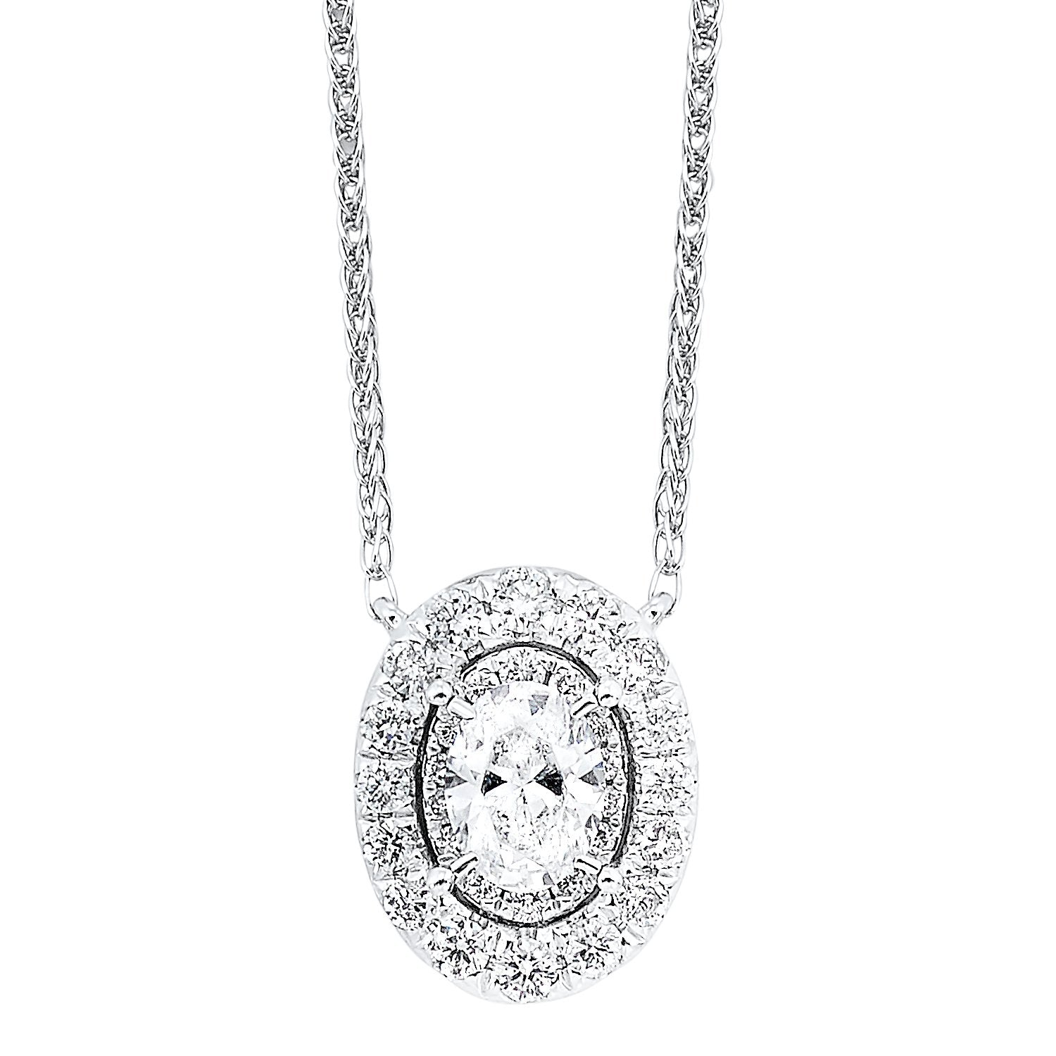 14K Diamond Pendant 1/4 ctw