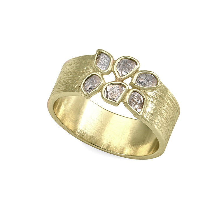 Jorge Revilla Diamond Slice Ring