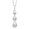 14KT Diamond Necklace 1/3ctw