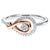 Gold & Silver Diamond Ring 1/6 ctw