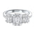 14K Diamond Engagement Ring 1 1/2ctw