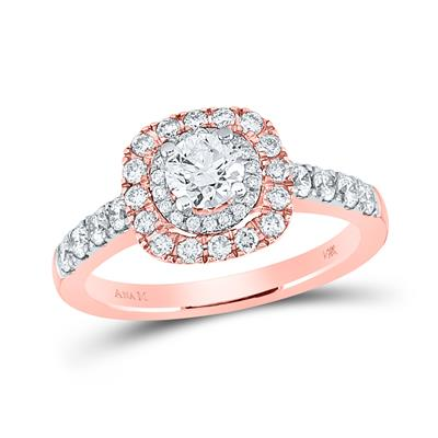 Rose Gold 1 Carat Engagement Ring