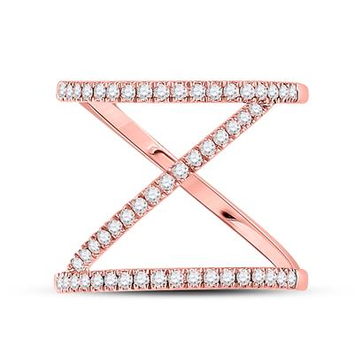 Rose gold Fashion Diamond Ring .50 ctw