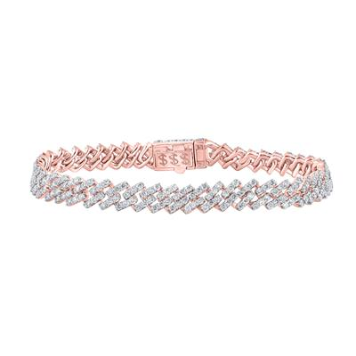 Rose Gold 8 Carat Diamond Bracelet