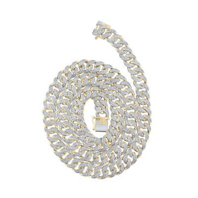 5 Carat Cuban Link Diamond Chain 22 inches