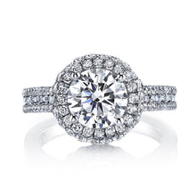 Load image into Gallery viewer, Luxe Halo Diamond Engagement Ring
