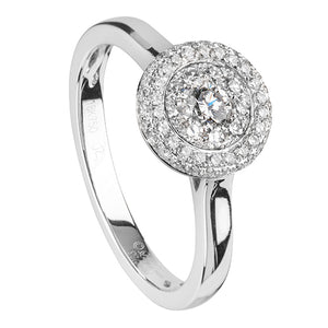 Bague multi-diamants