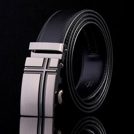 2019 New Male Designer Automatic Buckle Cowhide Leather men belt Famous Brand Belt Luxury belts for men Ceinture Homme