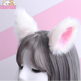 1 Pair Anime Cat Ears Hairpin COSPLAY Anime Dance Fox Ear Hair Clip Party Accessories Headwear Decorative Acessories Wholesale