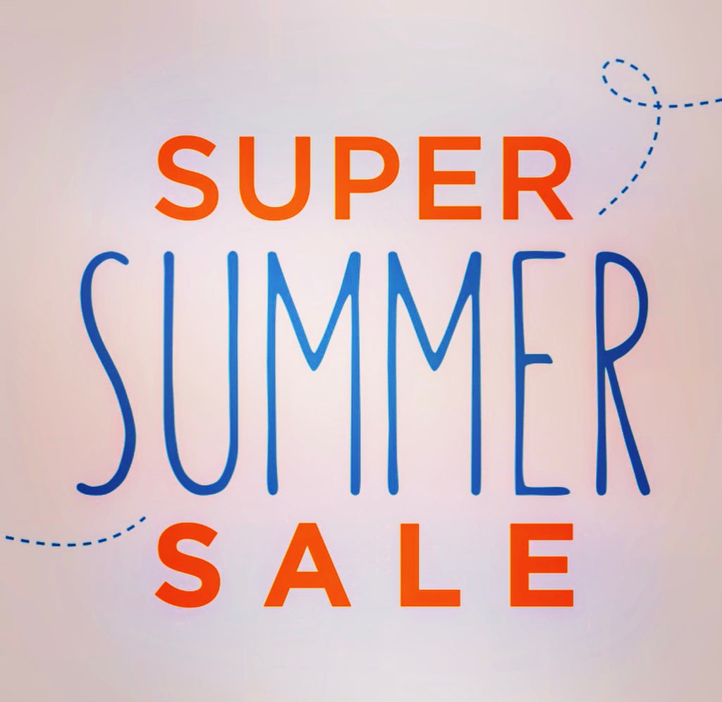 SUPER SUMMER SALE 50% OFF