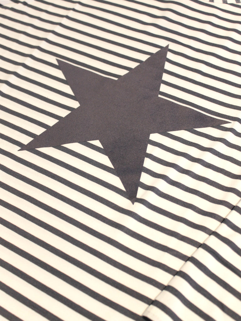 Chalk Robyn Long Sleeve Top Charcoal Stripe Star