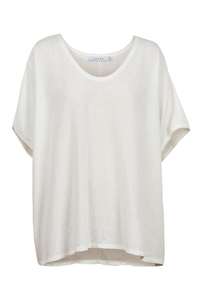 Haven Cuban Top White