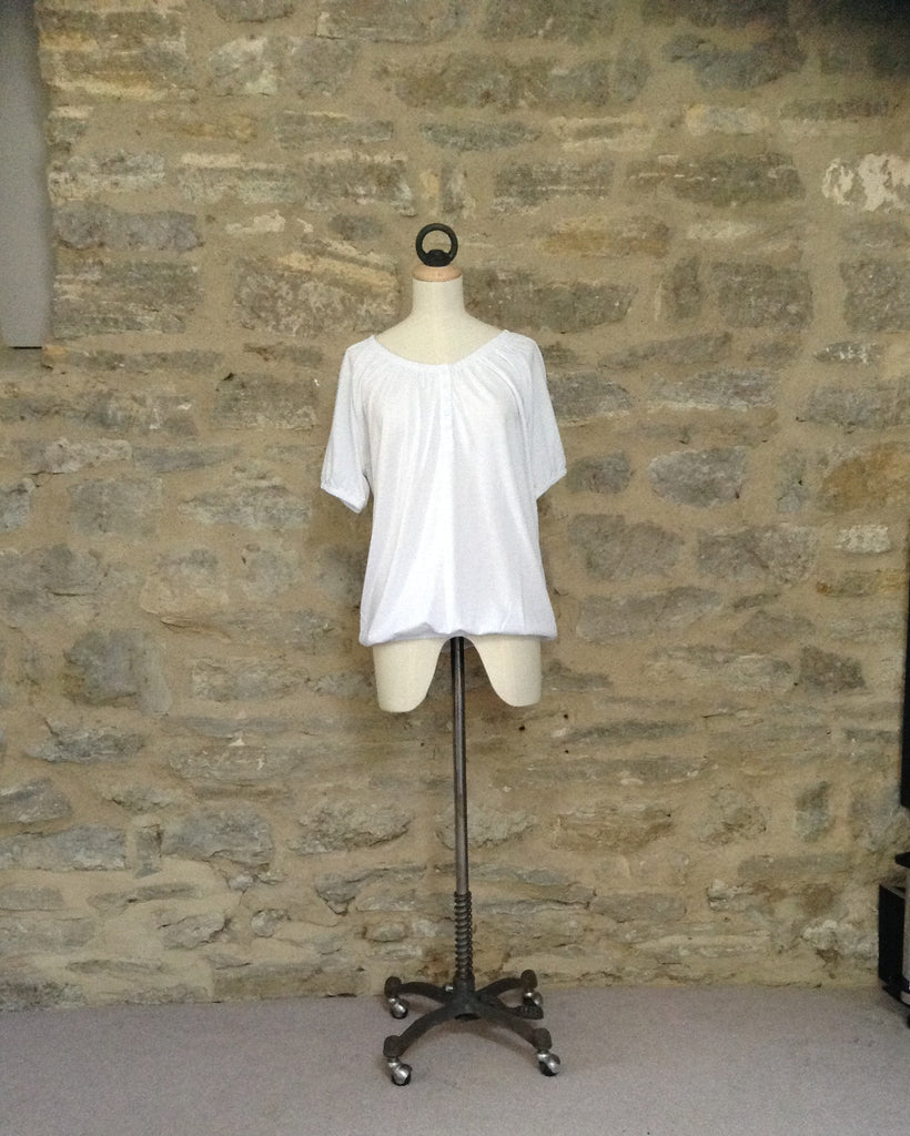 b.young Gypsy Style short sleeved t-shirt White