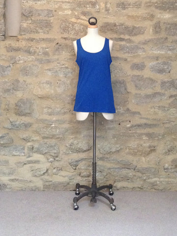 Great Plains Featherweight Jersey Vest Cobalt Blue
