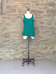 Great Plains Featherweight Jersey Vest Green