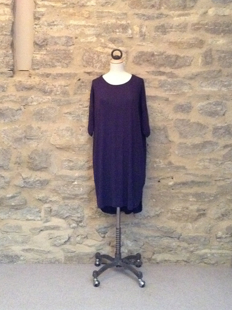 JUST FEMALE Odella Long Length & mid Sleeve Tunic Navy