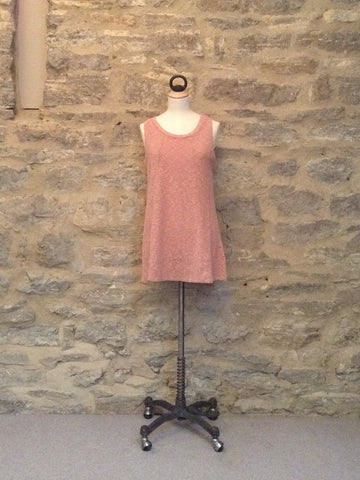 A Postcard From Brighton Reeve Slub Sleeveless Top Guava