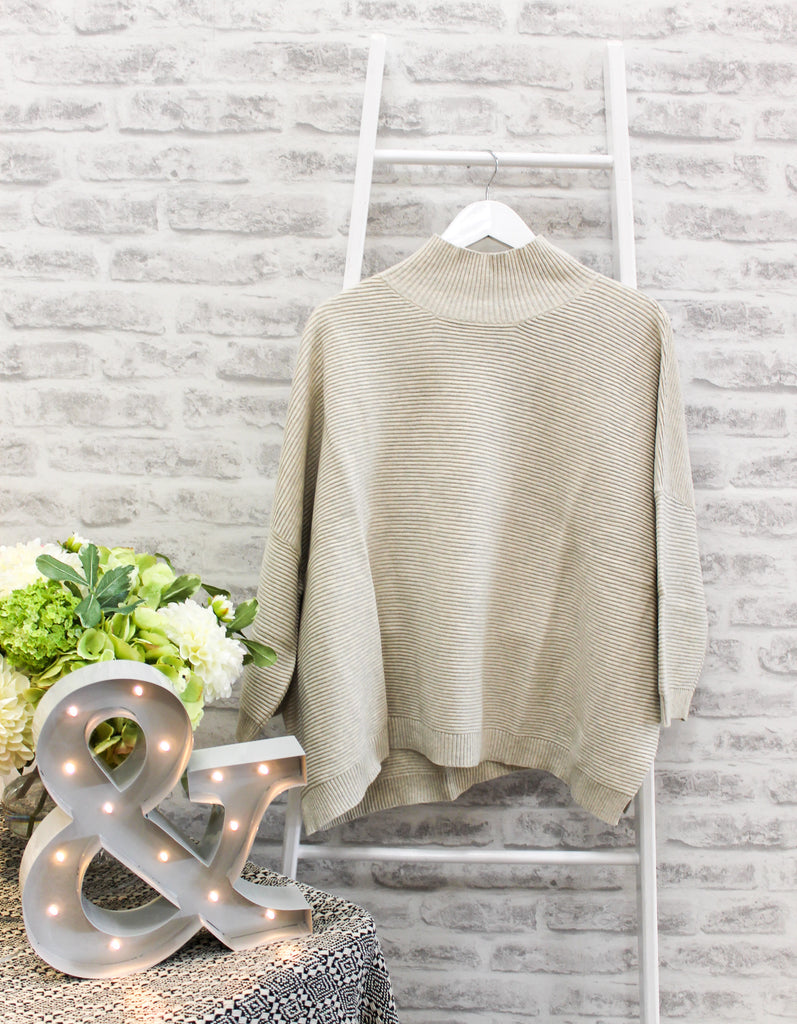 Chalk Vicki Jumper Oatmeal
