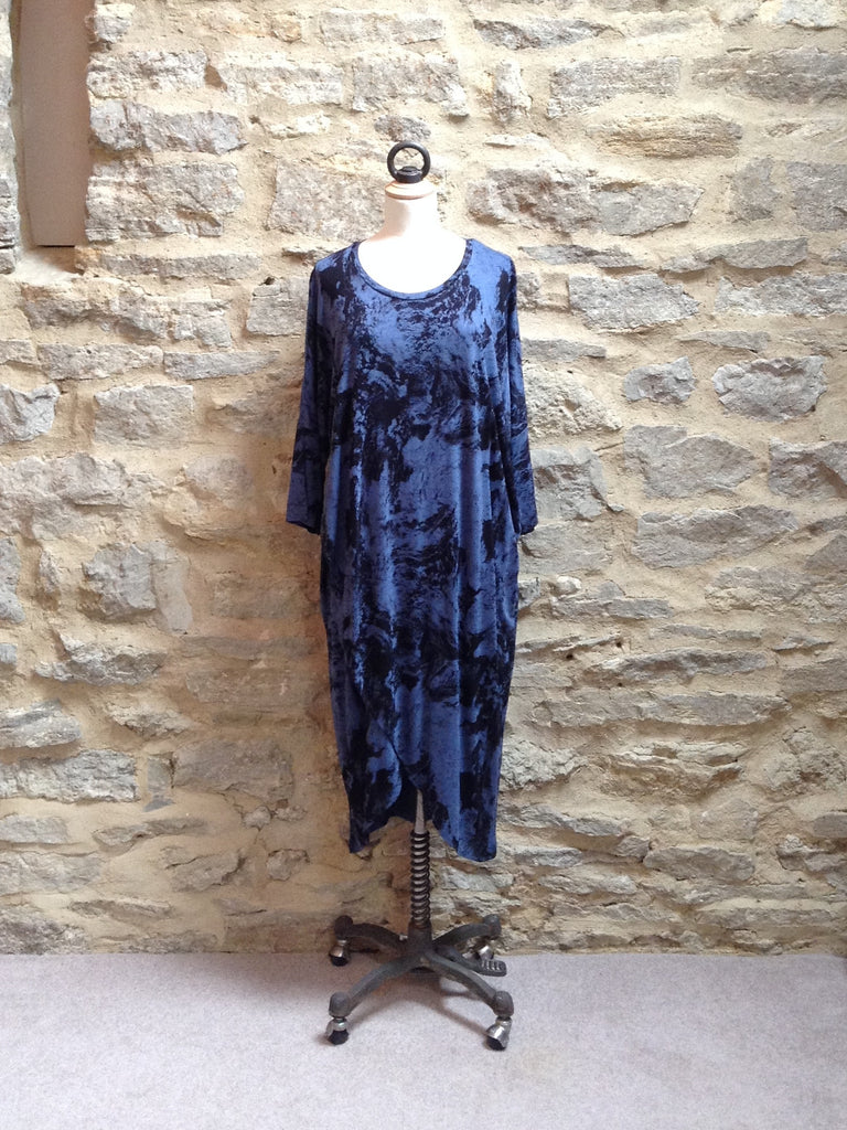 JUST FEMALE Earth Dress / Tunic Black/Blue