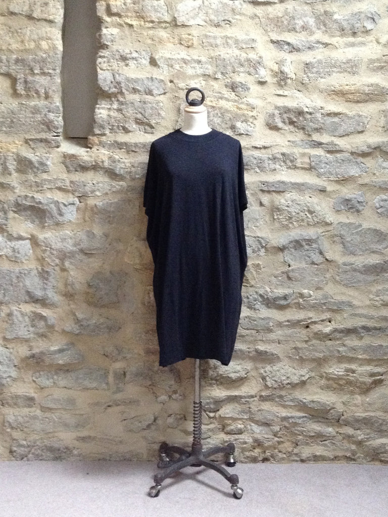 JUST FEMALE Nora Long Length & Short Sleeve Tunic / Tee Anthracite Grey