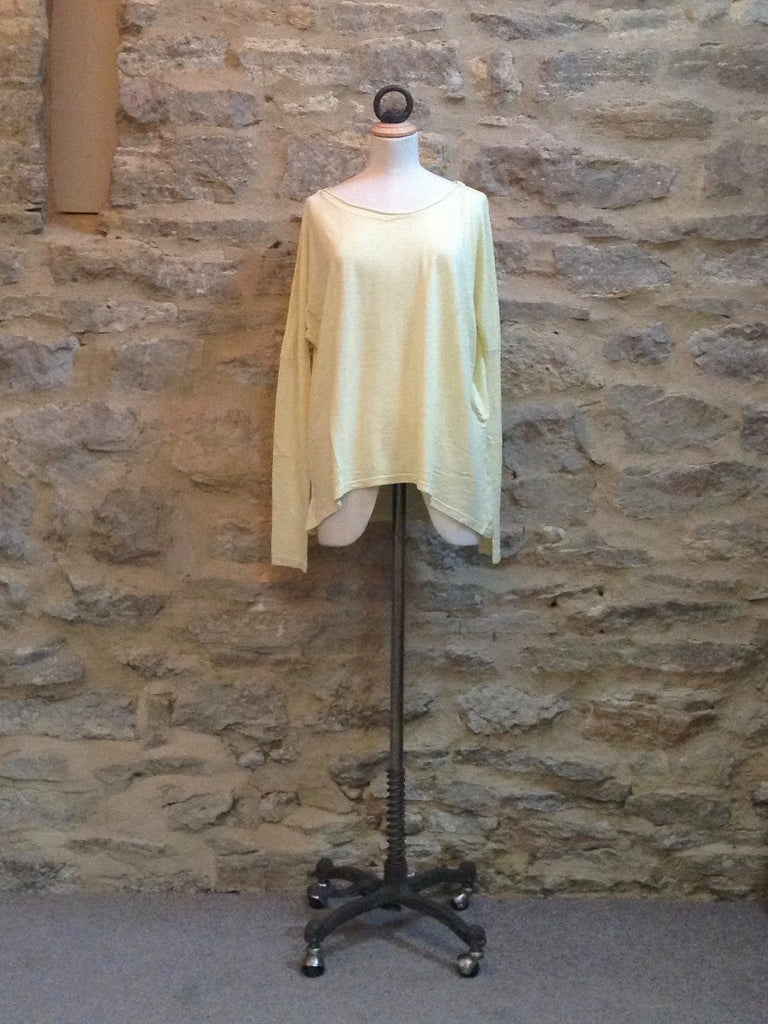 Twisted Muse Pippi Long Sleeved T-shirt Spring Yellow