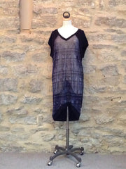 A Postcard from Brighton Blair Long Tunic/ Top Indigo Blue