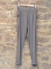 A Postcard From Brighton Chillings Trousers Jersey loose fit style pants Smokey Green
