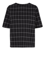 JUST FEMALE Merlis Short Sleeve check Classic Top
