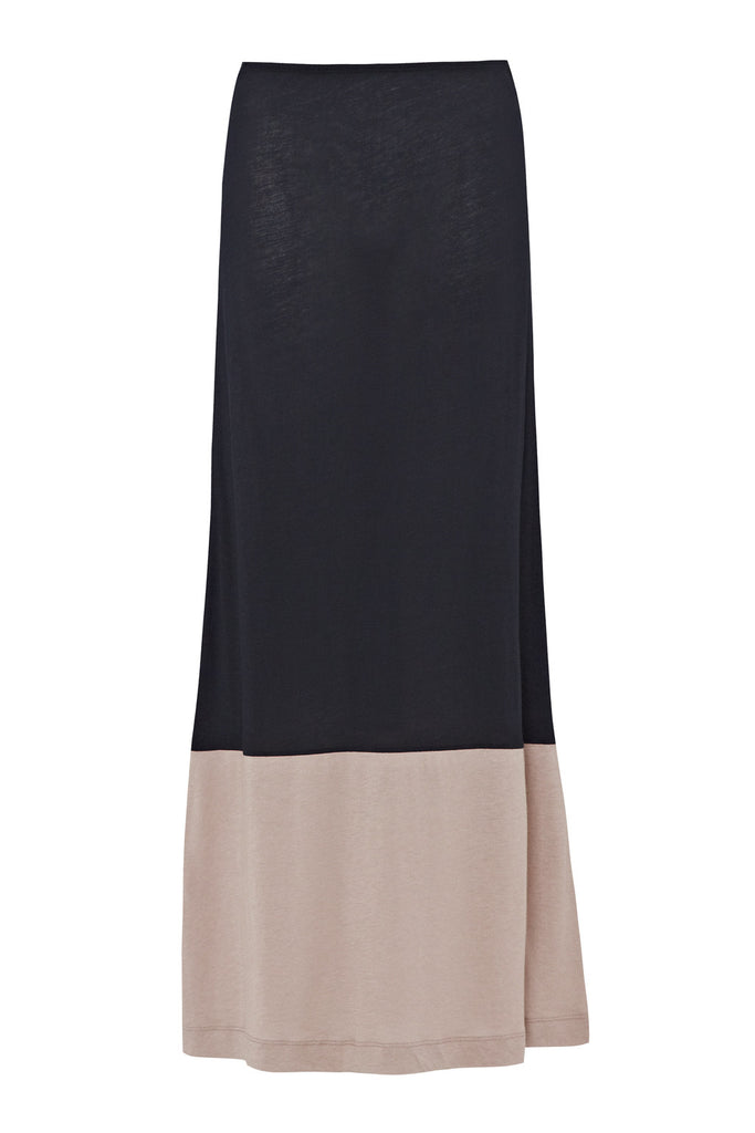 Great Plains Featherweight Jersey Colour block Maxi Skirt