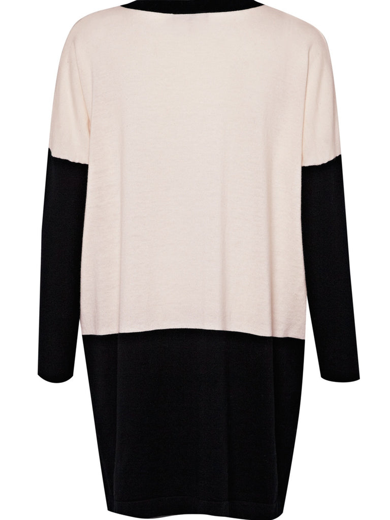 Great Plains Amore Block Tunic Black & Cream
