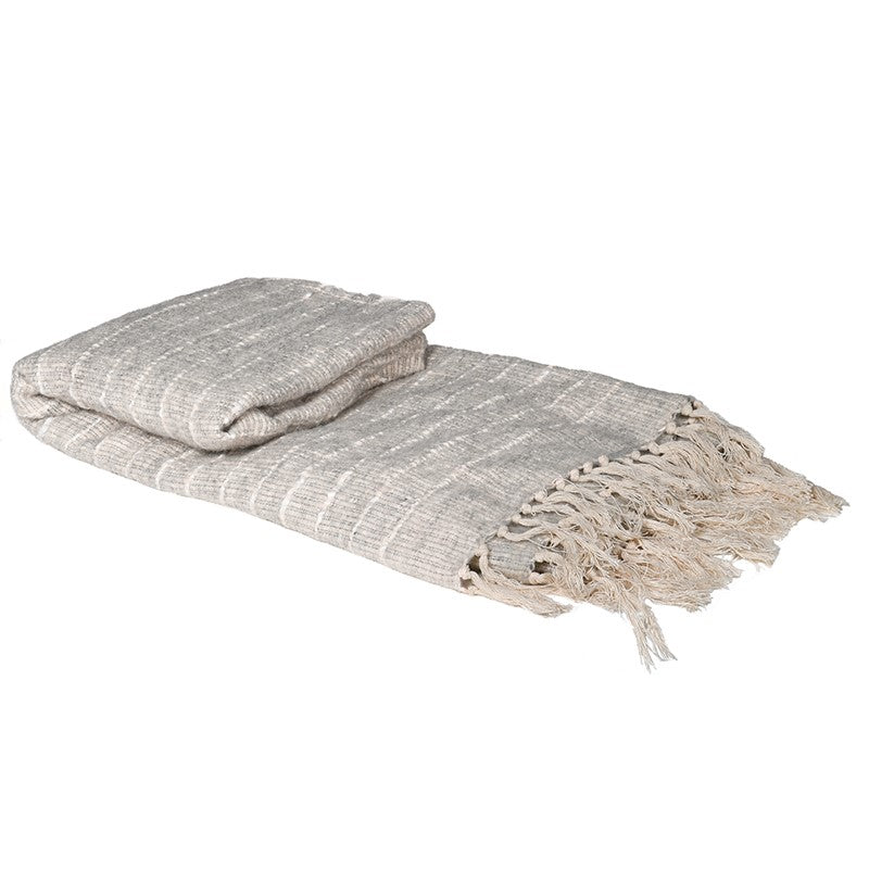 Love Layers Natural Bobble Throw