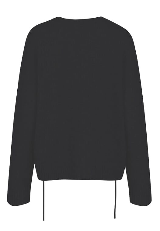 Religion Link Jumper Black