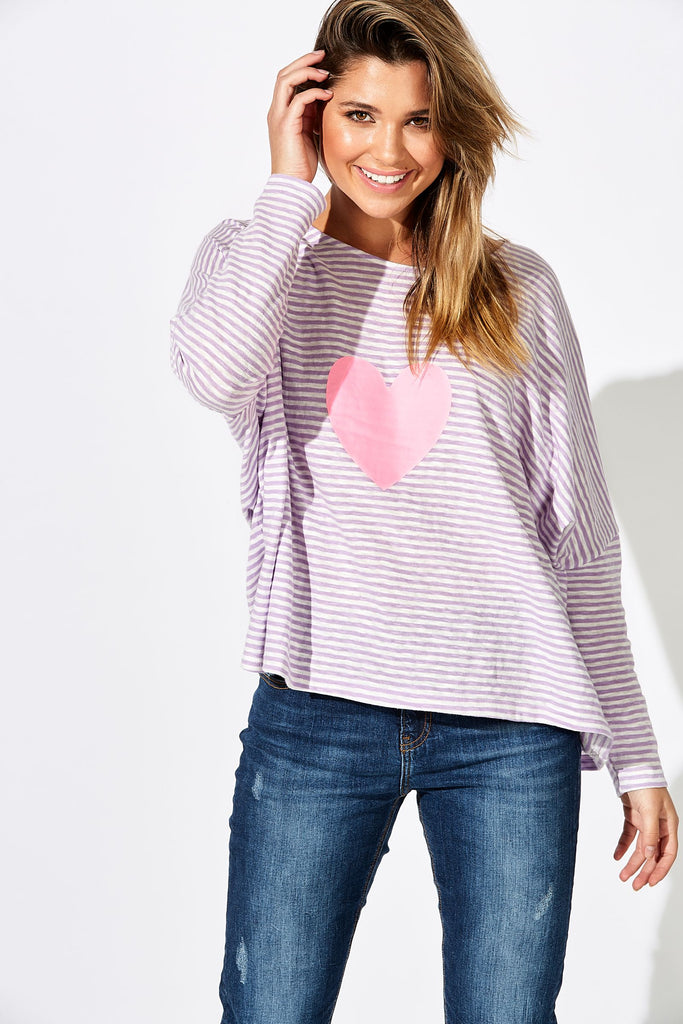 Haven Sail Away Top Lilac