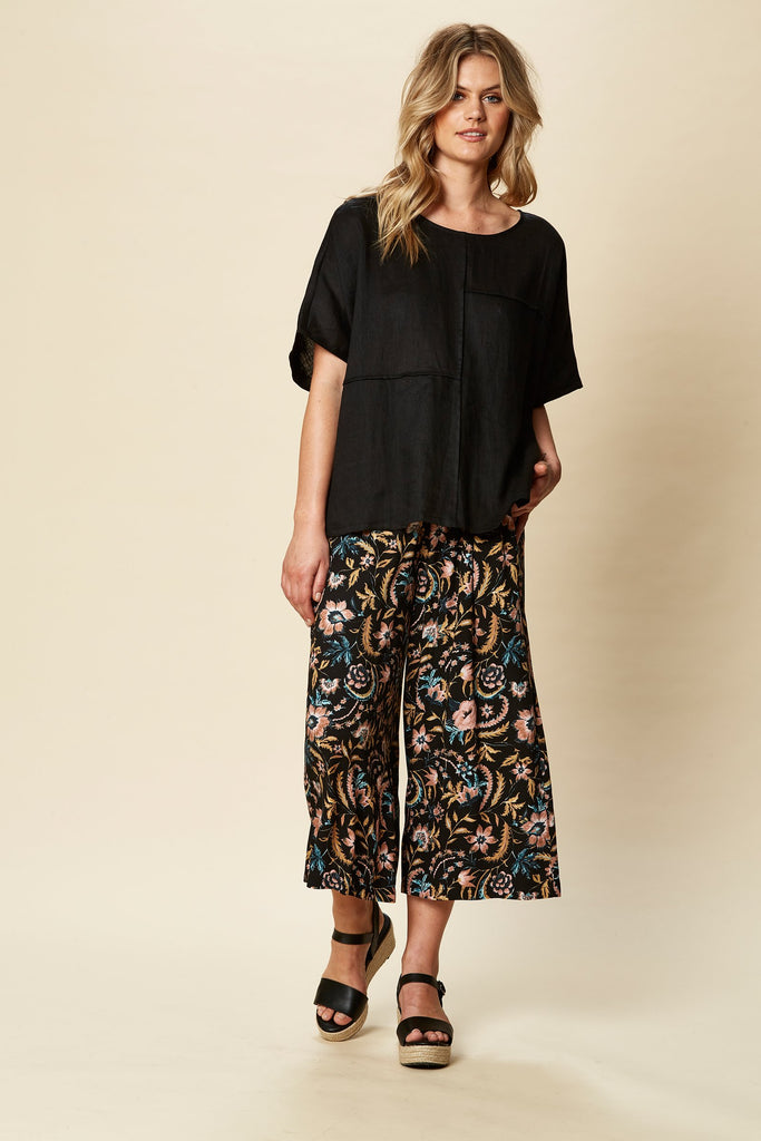 Eb & Ive Tribu Top Sable Black