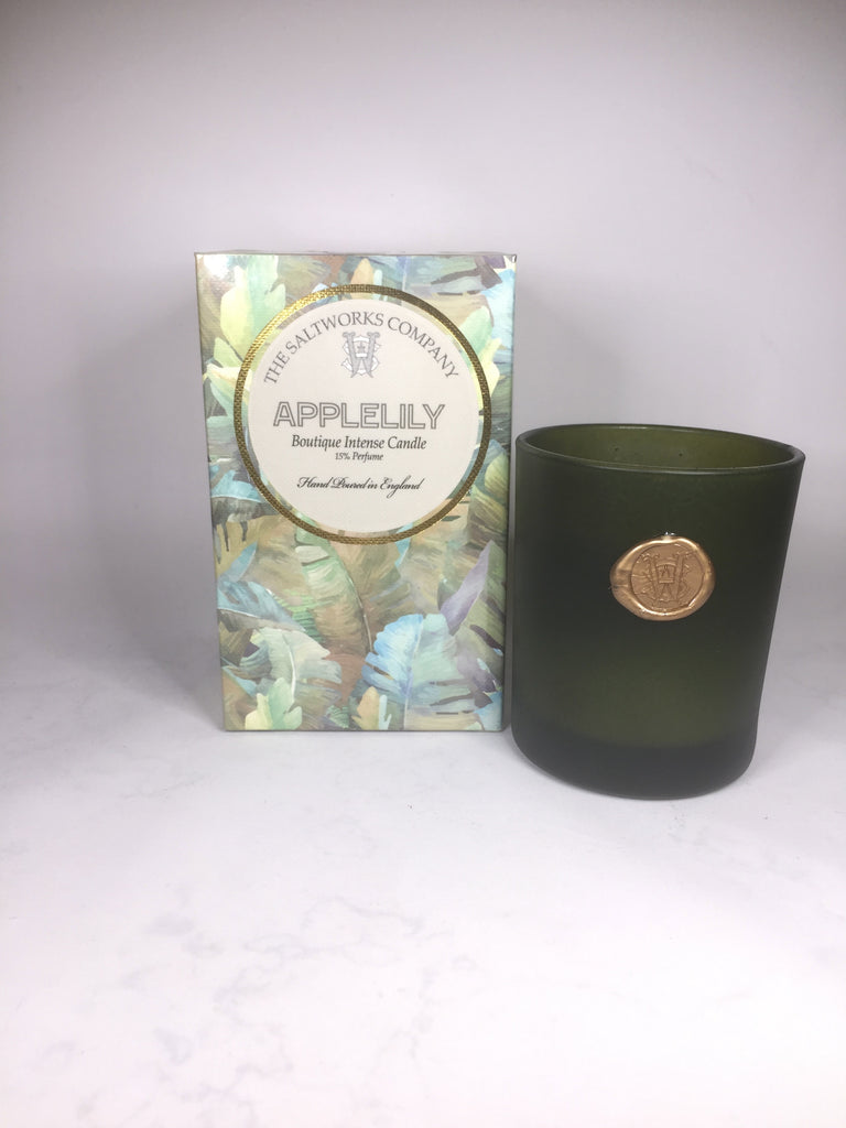 The Salworks Company Applelily Boutique Intense Candle
