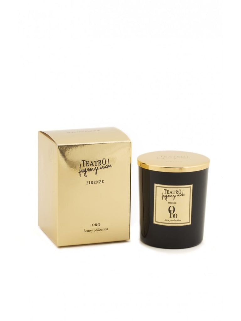 Teatro Fragranze Uniche - Oro 160gr Candle
