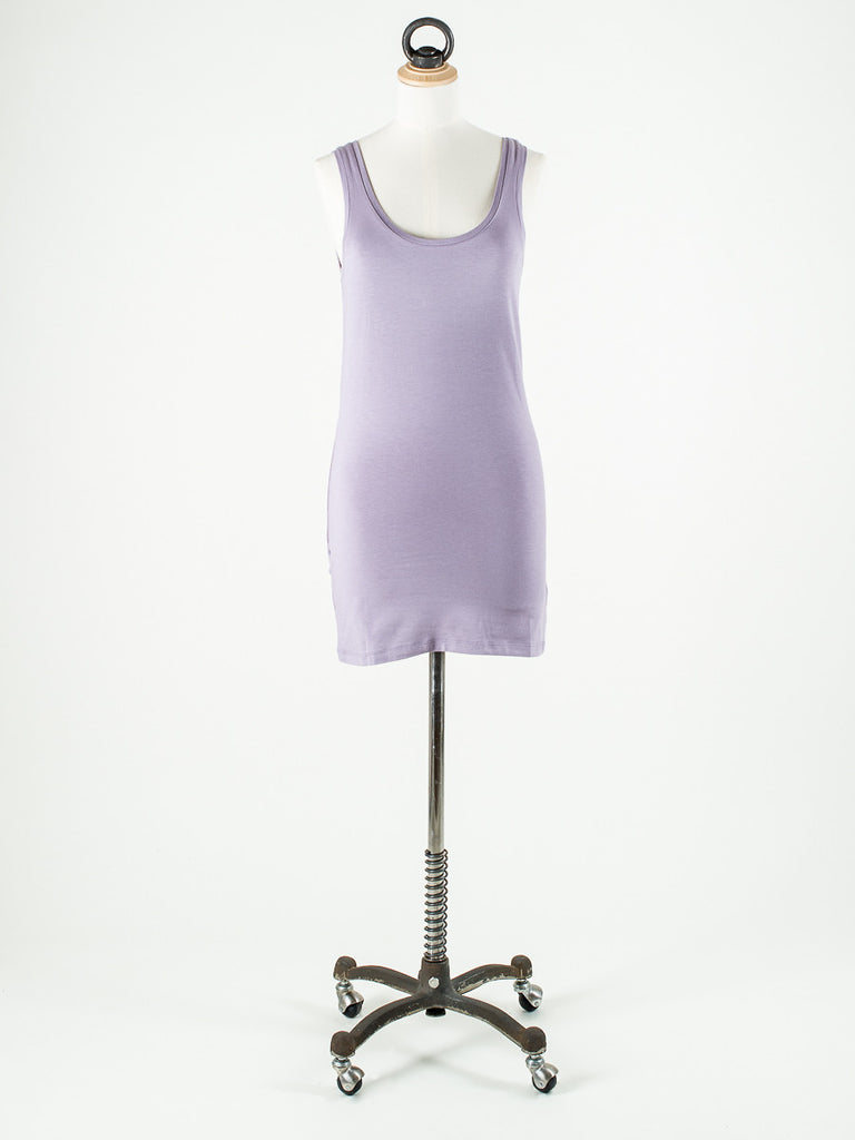 b.young Long Vest Top Pink Sorbet