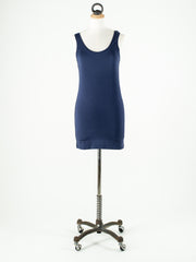 b.young Long Vest Top NAVY BLUE