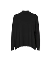 JUST FEMALE Nora Long Sleeve Top Black