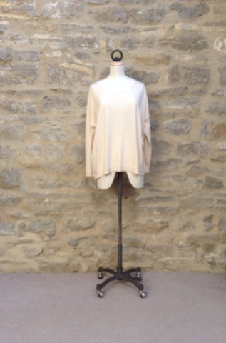 Great Plains Percy Knit Slouch Top Cream