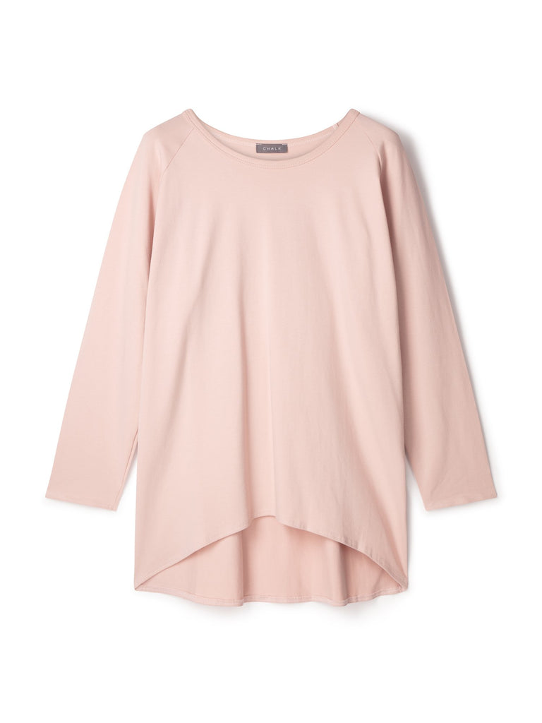 Chalk Robyn Long Sleeve Top Pink