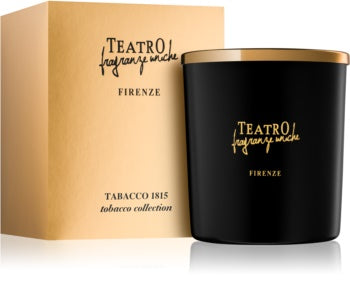 TEATRO FIRENZE Tobacco 1815 - 160 grm Candle