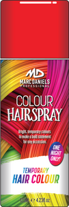 Coloured Hair Spray 125g Red