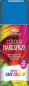 Coloured Hair Spray 125g Blue