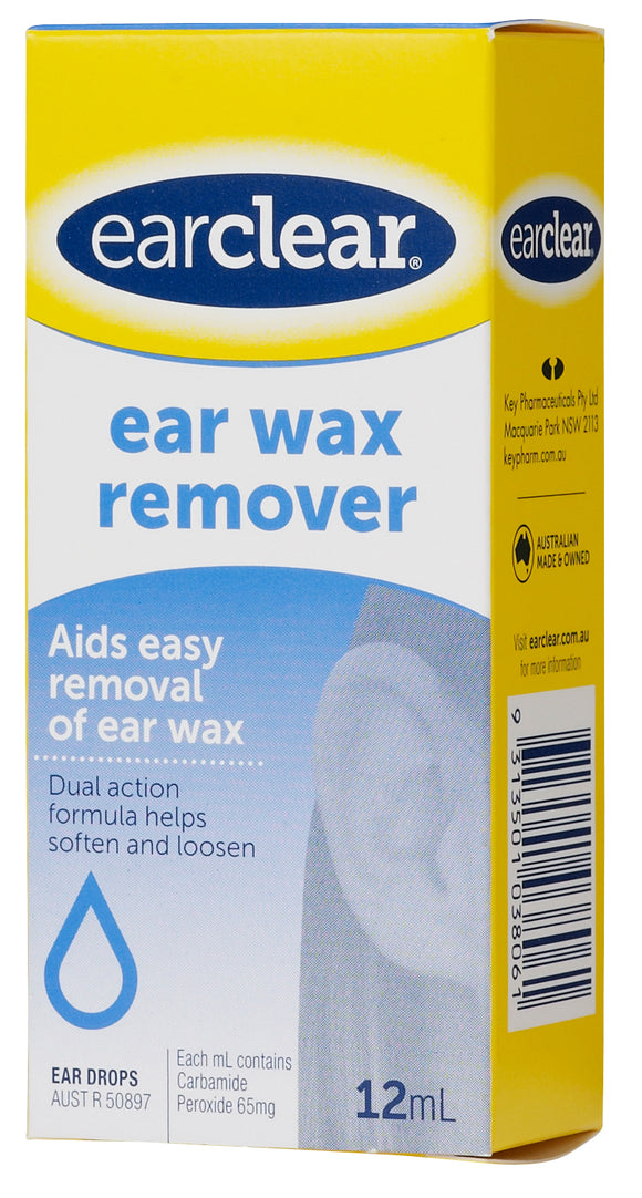 Ear Clear Wax Remover Ear Drops