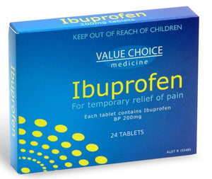 Value Choice Ibuprofen 20 tablets