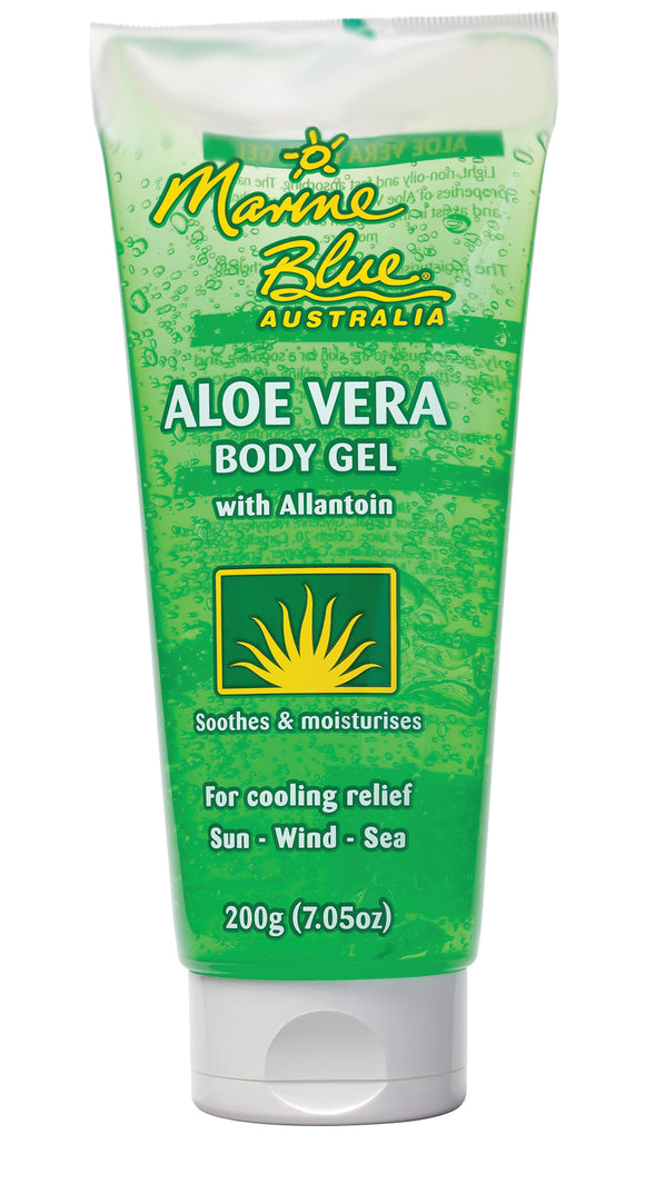 Marine Blue Aloe Vera After Sun Gel 200g Tube