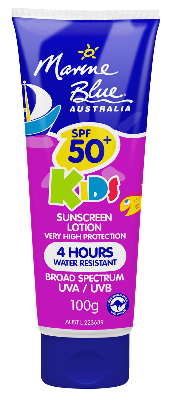 Marine Blue Kids 100g Tube SPF 50+